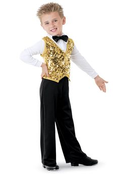 cd88acc238278 New Male Adult Children's Jazz Dance Boy Performance Clothing ...