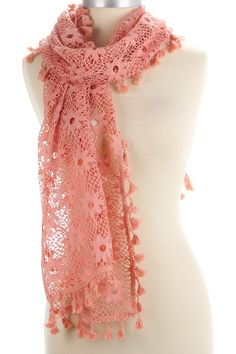 Spring Thaw Scarf In Pink.