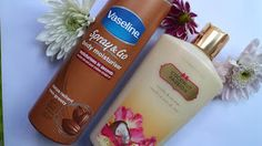 Body moisturiser, Body Shop body butter, Best body products, best skincare, Body butter review, body moisturiser, victoria secrets coconut paradise, vaseline spray and go