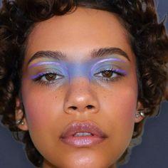 Makeup Eye Looks, Creative Makeup Looks, Eye Makeup Art, Fairy Makeup, Cute Makeup, Pretty Makeup, Makeup Inspo, Makeup Inspiration, Jewel Makeup