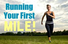 You Can Run a Mile Without Stopping  Week   Jog Intervals (minutes) Walk Intervals (minutes)   Number of Jog/Walk Repetitions  Time Involved: Two or three 20-minute sessions a week, for 4 weeks  week     jog    walk   reps  total time 1       1  4 4 20 2        2         3 4 20 3      3  2 4 20 4      4         1 4 20 warm up by walking for 3-5 minutes before your workout; end each training session with a 3-5 minute cool down, and don't forget to stretch!