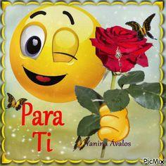 By esparrago Yanina Avalos - PicMix Love Smiley, Emoji Love, Animated Emoticons, Funny Emoticons, Emoji Images, Emoji Pictures, Beautiful Love Pictures, Love You Images, Funny Emoji Faces