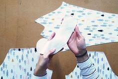 Jak ušít tričko, šaty s raglánovými rukávy (návody na šití) - Prošikulkulky.cz Cards, Maps, Playing Cards