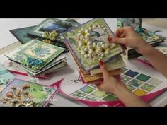 Secret for making flowers with Heartfelt Creations Arianna Blooms collection - YouTube