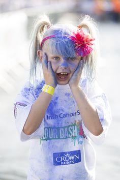 Excitement overload at the Colour Dash run!
