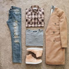 The latest men's fashion including the best basics, classics, stylish eveningwear and casual street style looks. Shop men's clothing for every occasion online Look Fashion, Urban Fashion, Autumn Fashion, Mens Fashion, Dope Outfits, Casual Outfits, Fashion Outfits, Stylish Men, Men Casual