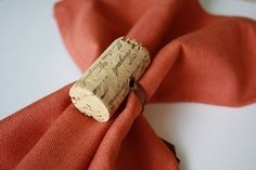 Wine Cork Napkin Rings, Set Of 12