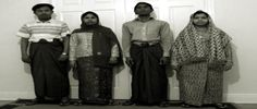 Rohingya community showing their traditional clothing in Ireland Photo The Stateless