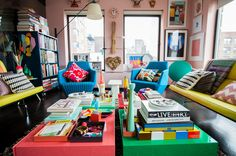 Eclectic Living Room by Elaine Musiwa