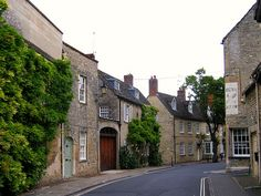 The Village of Woodstock near Oxford,England