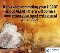 Reminding your heart