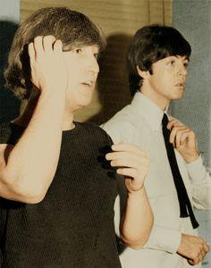 JOHN LENNON AND PAUL MCCARTNEY...