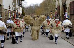 #Carnaval en Ituren #Navarra
