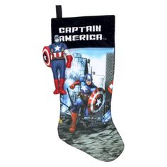 Marvel Captain America Stocking