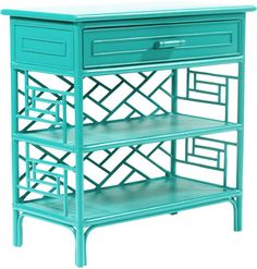 David Francis Furniture Chippendale End Table