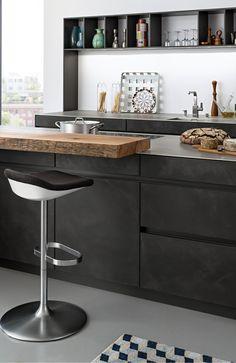 CONCRETE-A › Lacquer › Modern › Kitchen › Kitchen | LEICHT – Modern kitchen design for contemporary living