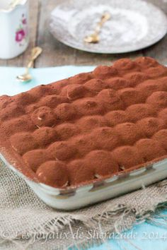 recette tiramisu nutella pralin