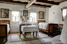 Country Interior, Cozy Living, Hungary, Window Treatments, Home Projects, Guest Room, Decoration, Cottage, Indoor