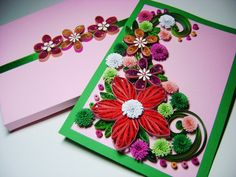 Happy Mother's Day CardFlower birthday cardThank by MadeByHelenka