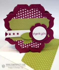 New MOJO & Stampin' Up! Floral Frames WOW! Video - Stampin' Up! Demonstrator - Mary Fish, Stampin' Pretty Blog, Stampin' Up! Card Ideas & Tutorials