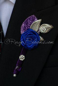Lavender Navy Blue Velvet Leaf Groom Boutonniere  #wedding #tuxedo #groom #prom #groompin #broochpin #lapel #boutonniere #bestman #weddinginspiration #bridal #weddings #crystalbrooch #royalblue #groomsman #weddings #weddingidea #inspiration #sandiego #velvet #purple #newyorkwedding #californiawedding #rusticwedding #royalblue #roalbluewedding #luxurywedding #woodlandwedding #vintagewedding #countrywedding #destinationwedding #sandiegowedding #fashion