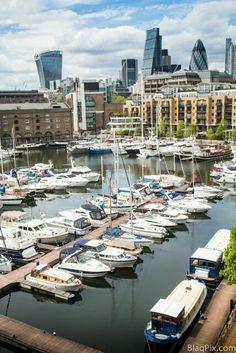 St Katherines dock London