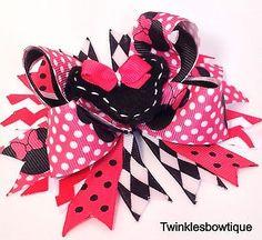 minni mouse hair bow