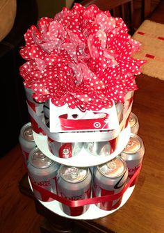 Diet coke cake... if I were to receive this as a gift that would be amazing!!!!