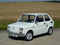 Fiat 126, Exterior Colors, Mini, Volkswagen, Engineering, Garage, Black And White, Country, Vehicles