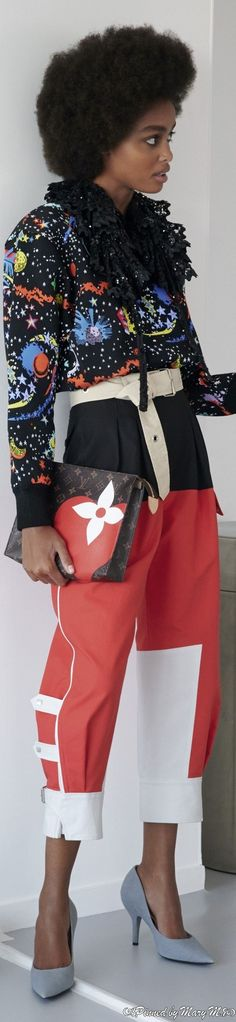 Couture Accessories, Louis Vuitton Accessories, Capri Pants, Spring Summer, African, Casual, Fashion Trends, Cruise, Women