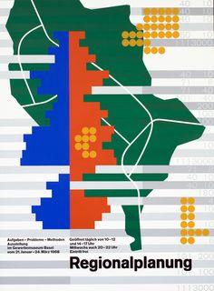 Regionalplanung by Biesele, Igildo | Shop original vintage #posters online: www.internationalposter.com
