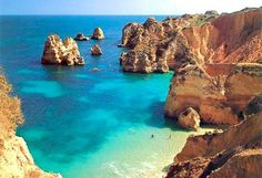 Take a romantic vacation in the Algarve...