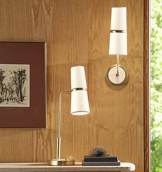 Cedar & Moss Conifer Single Table Lamp | Rejuvenation