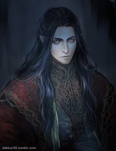 I absolutely love this painting Fëanor by dakkun39.tumblr.com