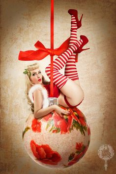 MUAH October DiVine | Pin Up Model Photo Doll House Photography