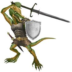 Kobold Sword and Shield
