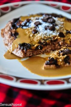 MIMM: Carob Chip Coconut Protein Pancakes (single serve/high protein/no sugar added) - Sensual Appeal