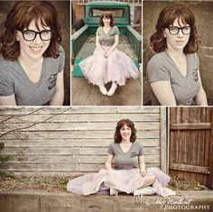 don't feel stressed if you wear glasses...you can do photos with or without them, or both!