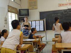 Volunteers Kara Weasen & Rebecca Star in Vietnam Teaching and Children support Programs  https://www.abroaderview.org #volunteer #vietnam #hanoi #abroaderview