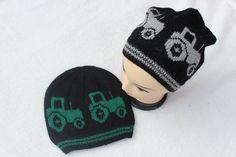 Garnpakke Traktorlua Voksen Sort/grå Sort, Alpacas, Winter Hats, Beanie, Fashion, Moda, Fashion Styles, Beanies, Fashion Illustrations