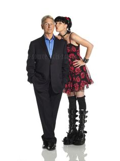 "Mark Harmon and  Pauley Perrette, ""NCIS"""