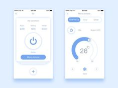 Smart Home designed by Nick. Connect with them on Dribbble; the global community for designers and creative professionals. Ui Design Mobile, Design Ios, Dashboard Design, Interface Design, User Interface, Smart Home Design, Website Design Layout, App Ui, Ui Ux