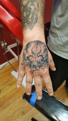 Sick hand tattoo