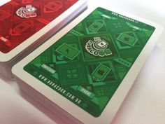 Playing card design on Behance