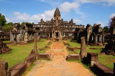 The Khmer temples http://cambodiahotels.info/featured/cambodian-architecture.html