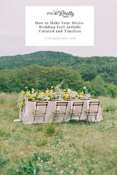 The creative options behind micro weddings are endless and today's editorial proves just that. Photography: @nicolecolwellphotography #microwedding #smallwedding #intimatewedding #elope #weddinginspo Mediterranean Wedding, Italy Wedding, Mellow Yellow, Elegant Wedding, Wedding Styles, Wedding Inspiration, Make It Yourself, Feelings, How To Make