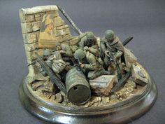The Red Army | Dioramas and Vignettes | Gallery on Diorama.ru