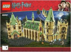 Harry Potter - Hogwarts Castle instructions. It may end up being pink and purple but it will still be Hogwarts!