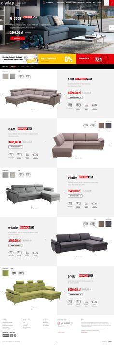 E sofa home
