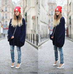 #beanie #outfit #women #womenwear #style #stylish #inspiration